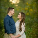 couple portrait photography session in the woodlands