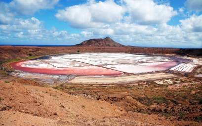 Salinas de Pedra Lume en isla de Sal