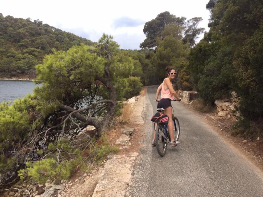 Ruta en bicicleta por el Parque Nacional de Mljet