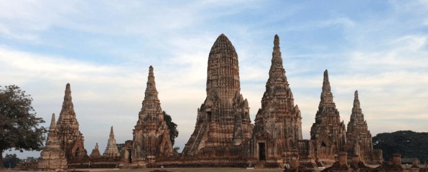 templo en Ayutthaya, Tailandia