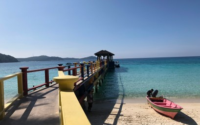 islas perhentian muelle de PIR beach