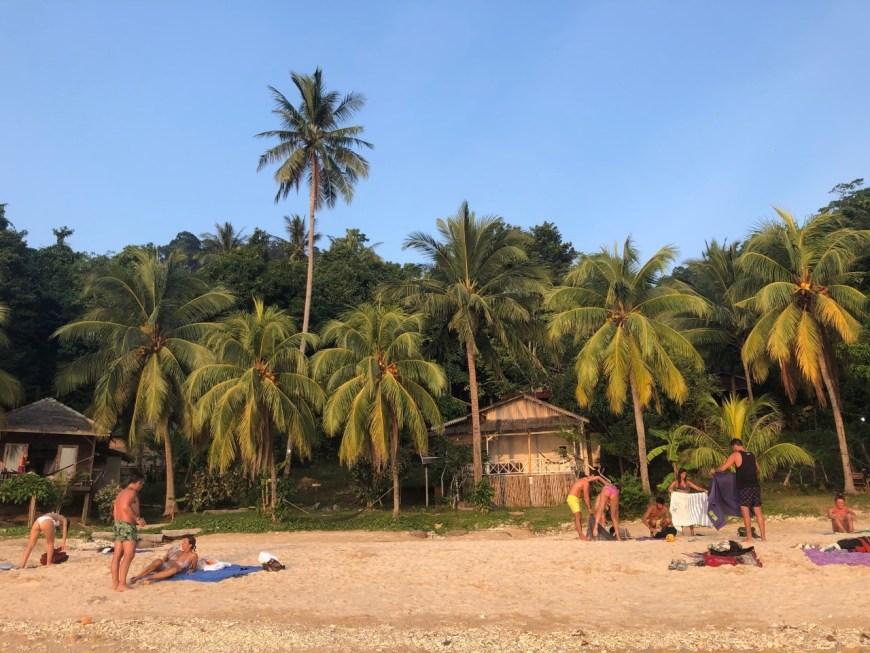 El entorno paradisíaco en Mira Beach en las islas Perhentian
