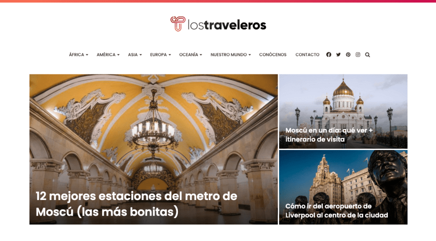 captura blog de viajes traveleros