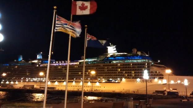 Celebrity Solstice at Ogden Point