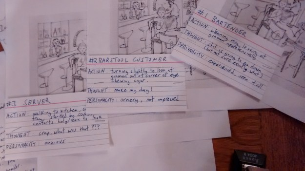 Dead Man's Hand Action Cue Cards
