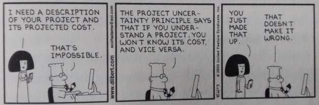 Dilbert Uncertainty Principle