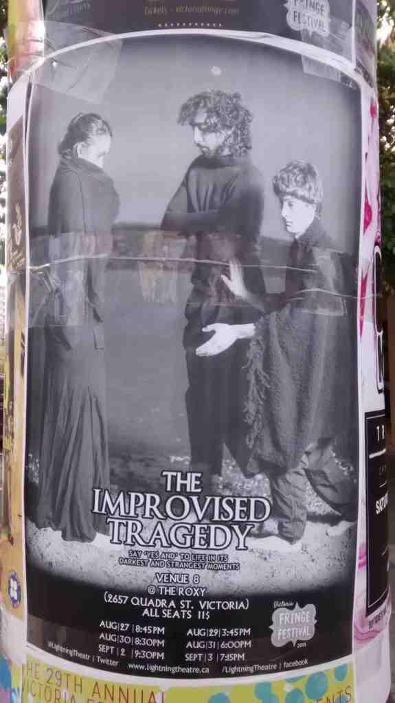 Improvised Theatre Poster
