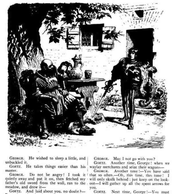 Gotz von Berlichingen Illustrations