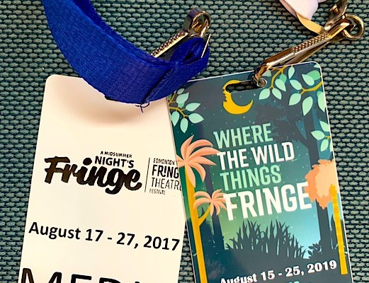 Media passes and the Edmonton Fringe