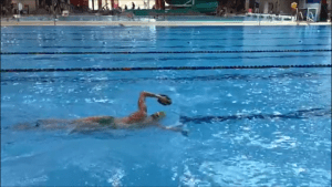 triathlon cross training with a broken ankle pool swimming