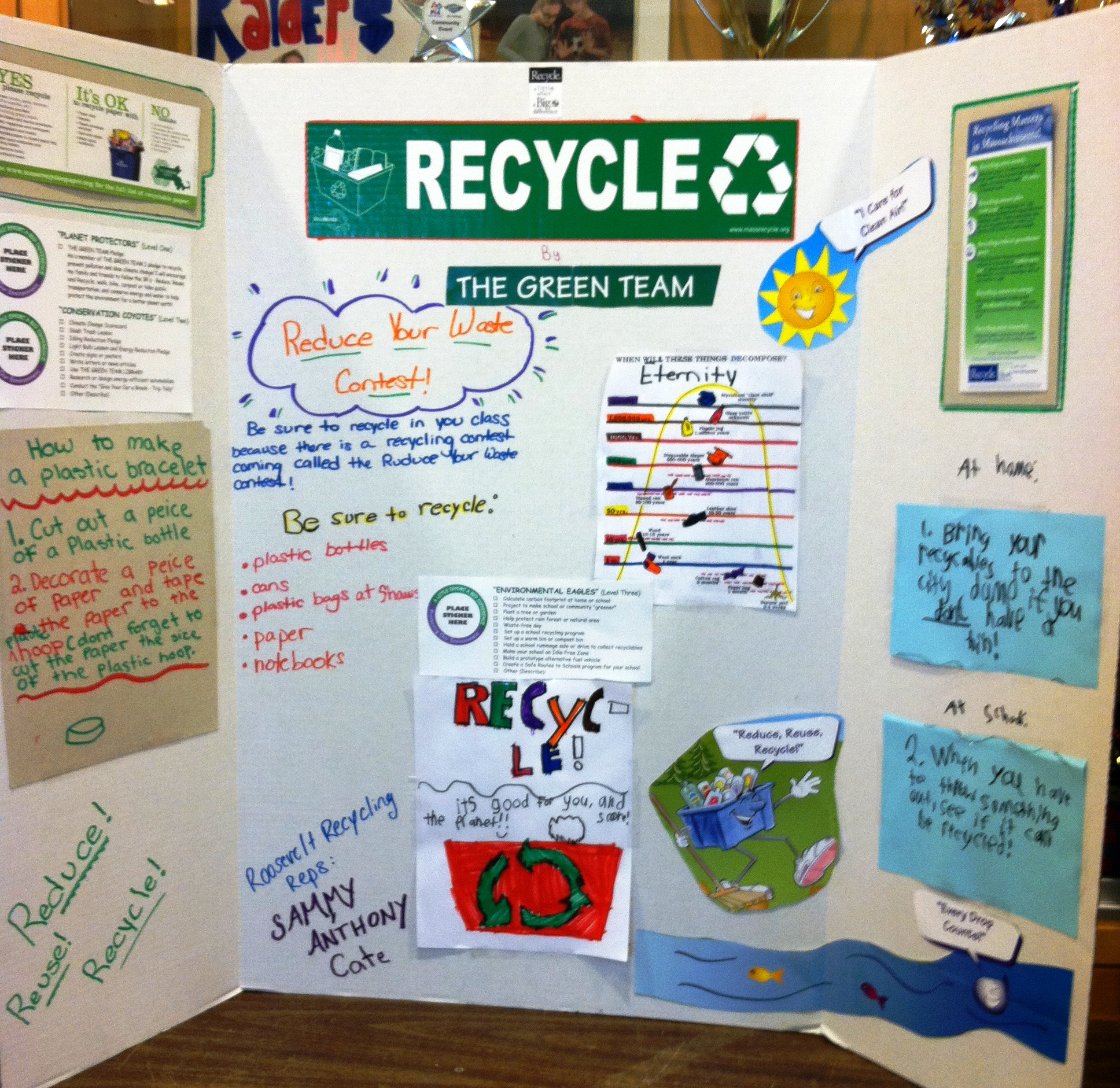Recycling Matters Column School Recycling