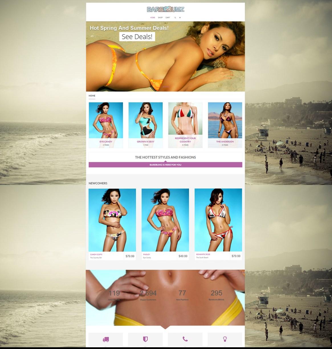 Bikini store