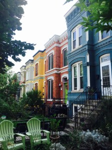 best coffee cities in the United States_Washington D.C._colorful residences