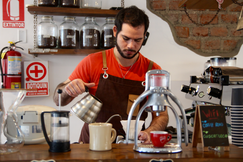 specialty coffee in peru_the coffee road_brewing