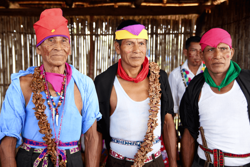 specialty coffee in Peru_traditional clothes of the Peruvian North
