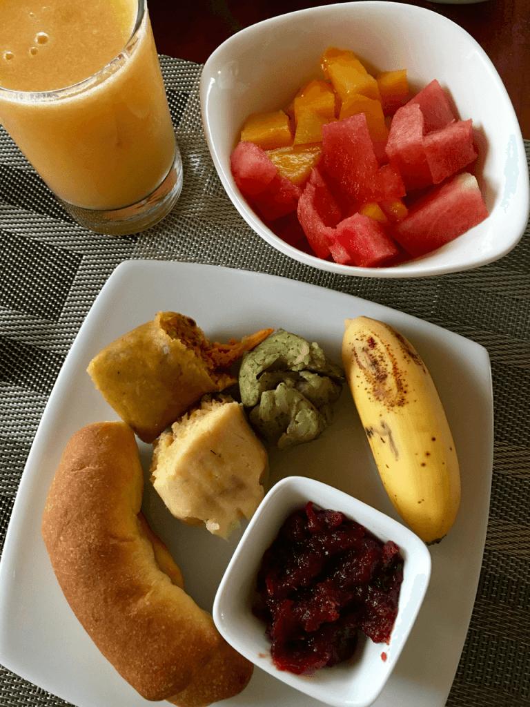 specialty coffee in Peru_breakfast