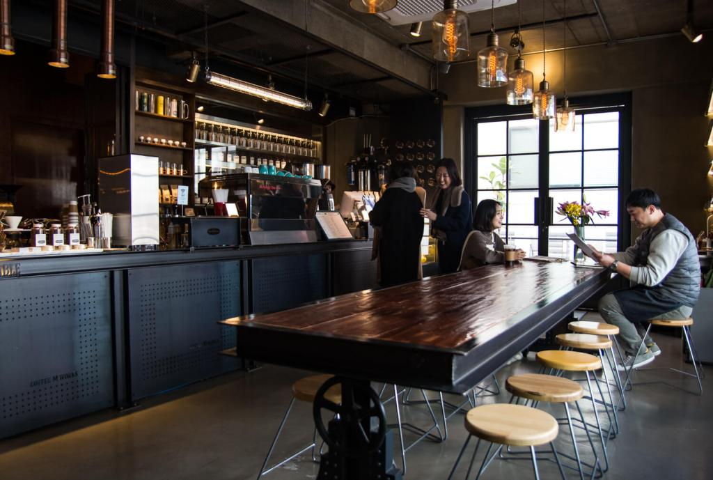 Specialty Coffee in Seoul_coffee m stable_cafe view