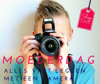 Een grandioos Moederdag cadeau, een nieuwe camera! Op Moederdag alles vastleggen met een nieuwe camera. Prijzig maar een super gaaf cadeau voor de (stief) moeder van je kindjes. Hebben jullie allemaal wat aan. 6x Moederdag inspiratie -  Mels Feestje