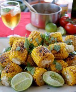 Mexicaanse Mais van de BBQ - bijgerecht bij een mexicaanse Taco bar als verjaardagshapjes - Mels Feestje