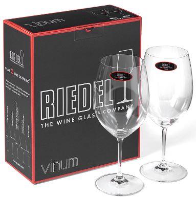 Riedel Bordeaux wijnglazen. De allerbeste wijnglazen. Zijn zo gemaakt dat geur & smaakt perfect uitkomen. Ze zijn niet goedkoop, maar zijn zeker een mooi cadeau of een leuke investeringf