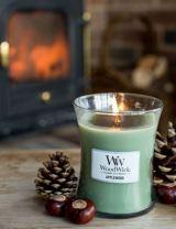 Herfst woodwick ? Geur kaarsen. De geur Applewood geeft een herfstsfeer in huis. 10x Herfstsfeer creëren.