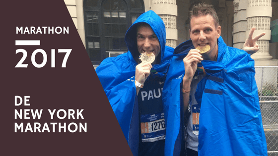 De New York Marathon 2017 - Vincent Bonninga - Sightseeing, run of a lifetime!