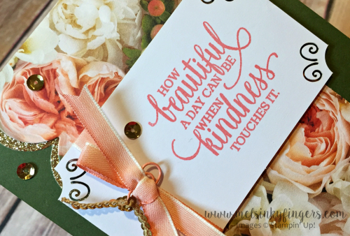 Petal Promenade designer series paper and the Share What You Love embellishment kit are FREE with a qualifying purchase until March 31st!