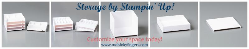 SU Storage by Stampin' Up units 1