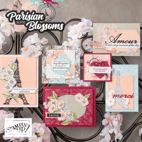 Parisian Blossoms suite
