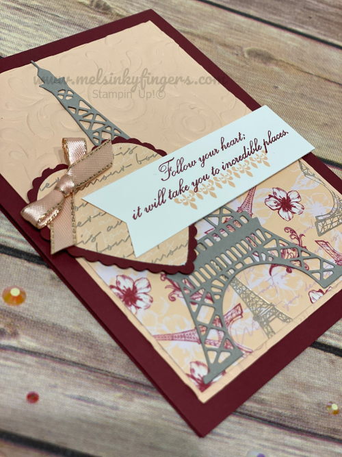 The Heart Punch Pack coordinates perfectly with the Parisian Blossoms suite!