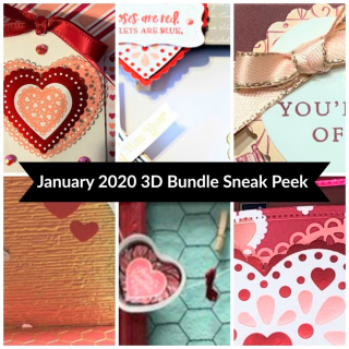 January 3D Bundle Tutorial Sneak Peak