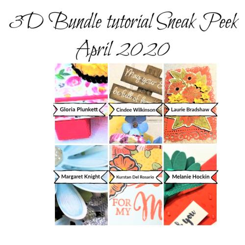 3D Bundle Sneak Peek April 2020