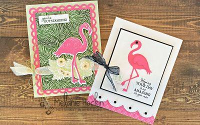 Friendly Flamingo meets Polished Pink