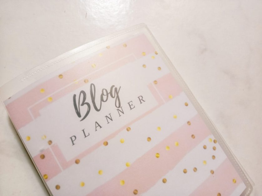 DIY Blog Planner Kit