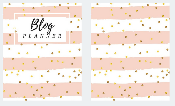 Binder Cover DIY Blog Planner