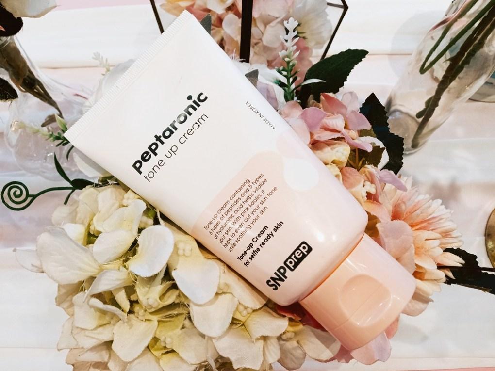 SNP Prep Peptaronic Tone up cream
