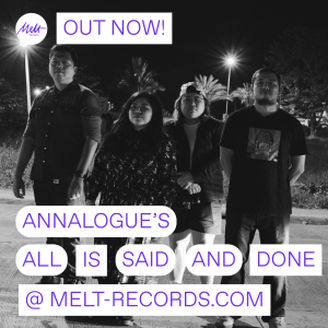 "Annalogue's ""All Is Said And Done"" Out Now! 