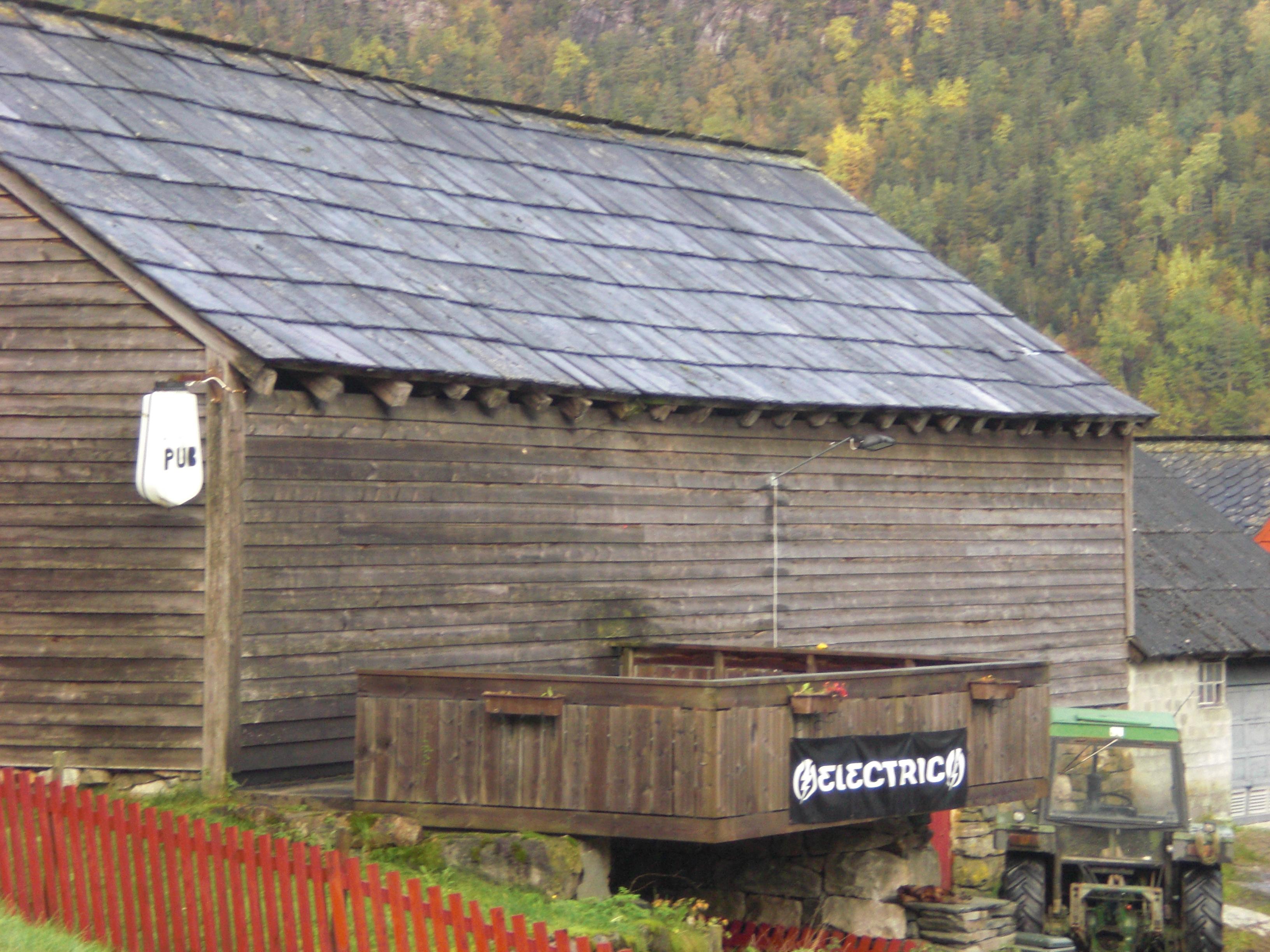 ...the local pub...;-)