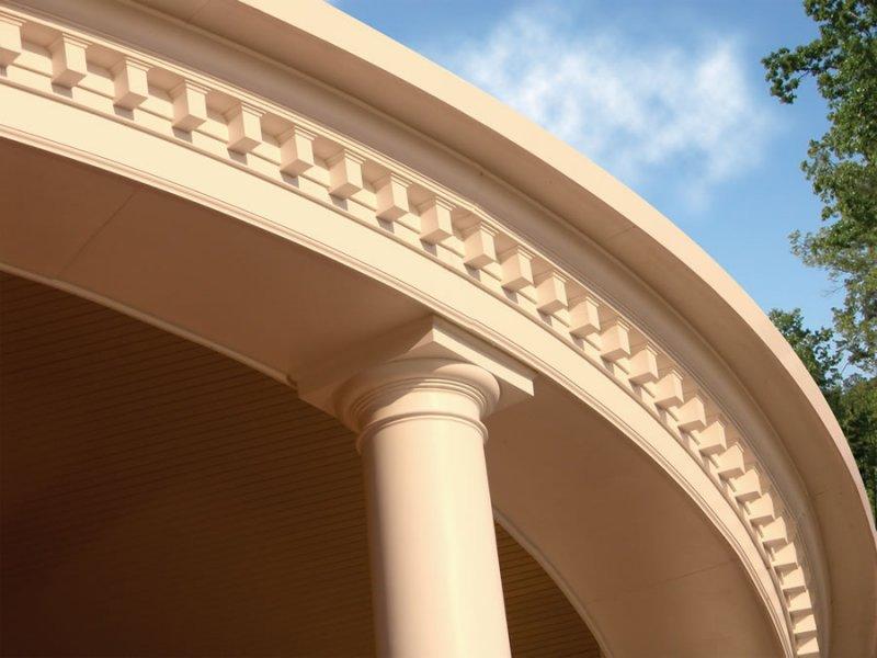 Exterior Column Trim