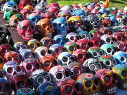 Skulls. Is a really in thing on the Boardwalk.