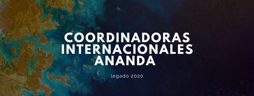 Coordinadoras  Internacionales Ananda