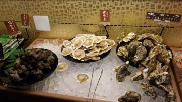 牡蠣・ホタテ・つぶ