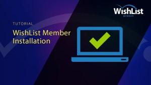 Install WishList Member