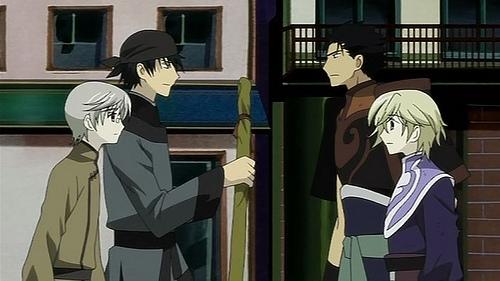 TouYuki vs KuroFay Staredown.