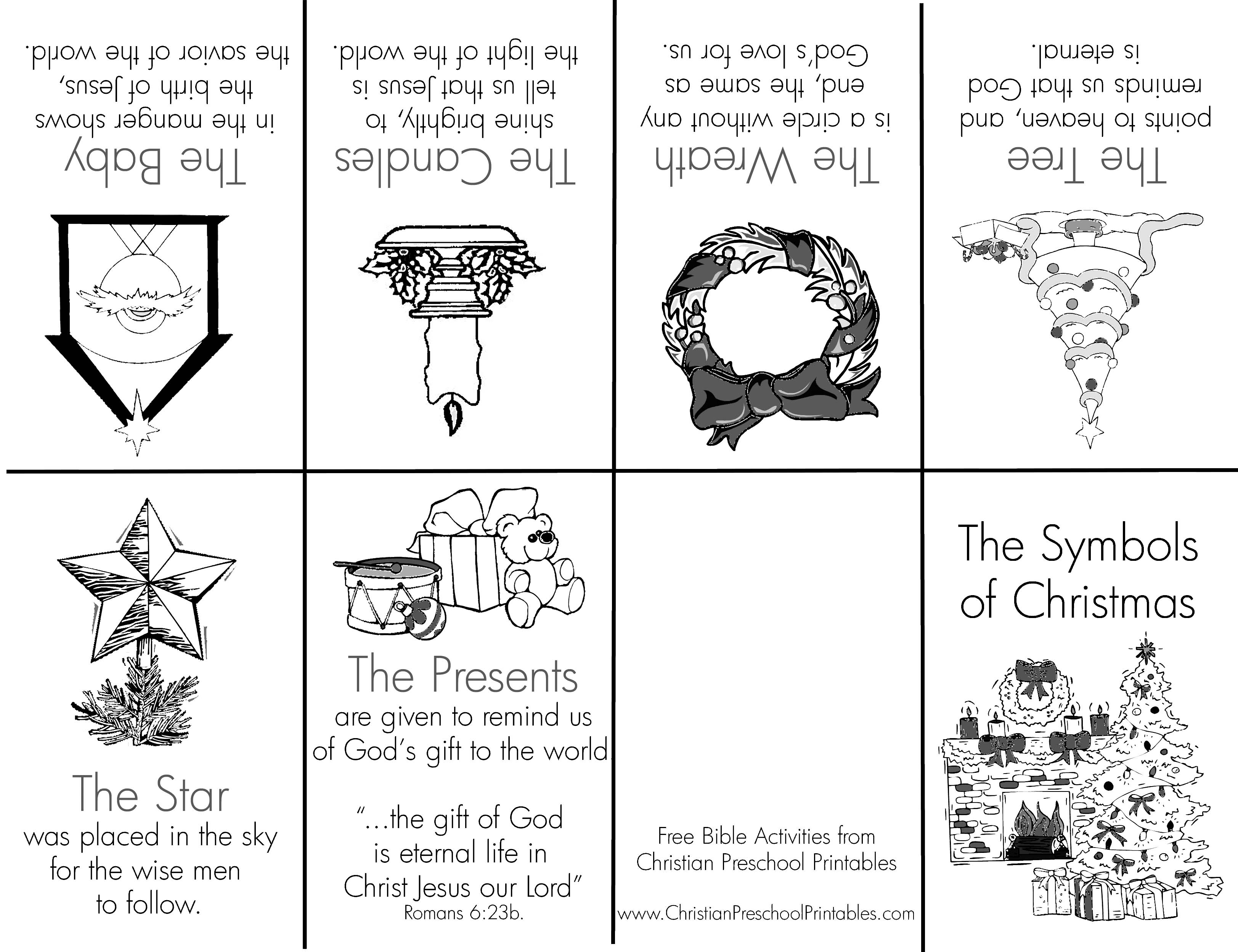 Mini Christmas Printable Coloring Books Coloring Pages
