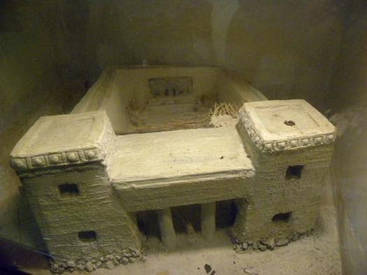 Replica of Canaanite Temple at Megiddo