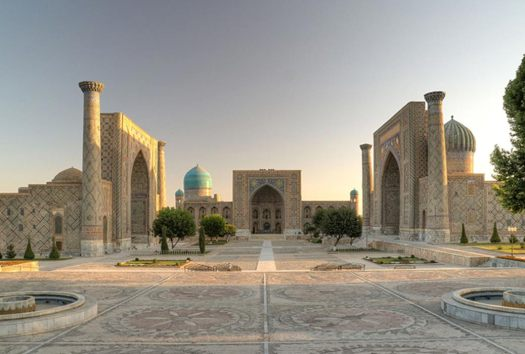 Samarkand, (Uzbekistan) is one of the oldest inhabited cities in Central Asia.