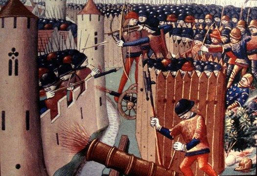 Siege of Orléans, 1429.