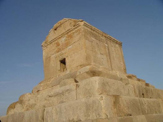 Tomb of Cyrus the Great.