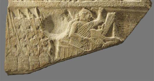 "Detail of the ""battle"" fragment."